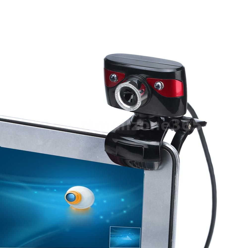 Usb2 0 12mp hd camera web cam 360 degree with mic clip on for Camera tv web