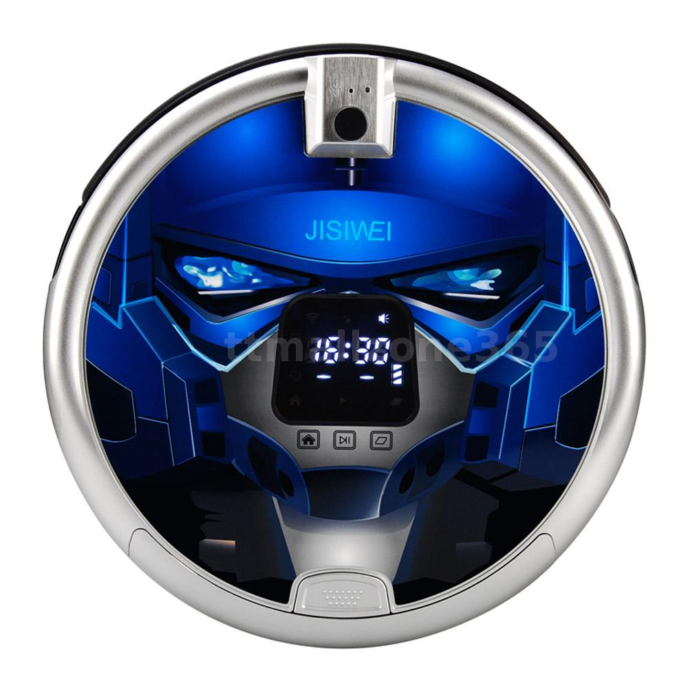 jisiwei s staubsauger roboter robot cleaner mit 1080p kamera wifi blau eu h6q0 ebay. Black Bedroom Furniture Sets. Home Design Ideas
