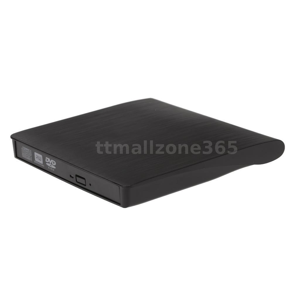 usb external dvd rw cd dvd rom player drive writer burner for imac laptop n2j1 ebay. Black Bedroom Furniture Sets. Home Design Ideas