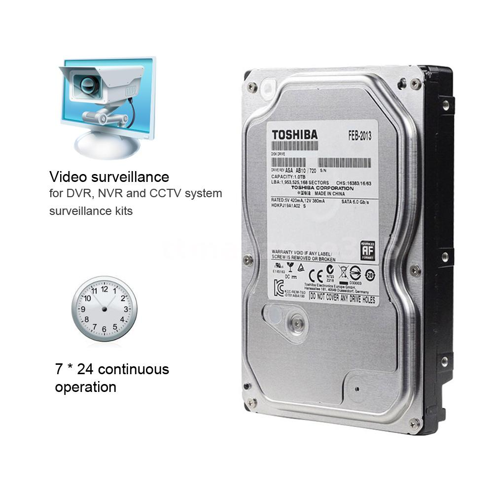 Toshiba 1tb Video Surveillance Hdd Hard Drive 5700rpm 35inch Hardisk Notebook 25 Inch Sata Toshibas Dt01aba V Series And Md04aba Of 35 Deliver Up To 4tb Storage Capacity The Are