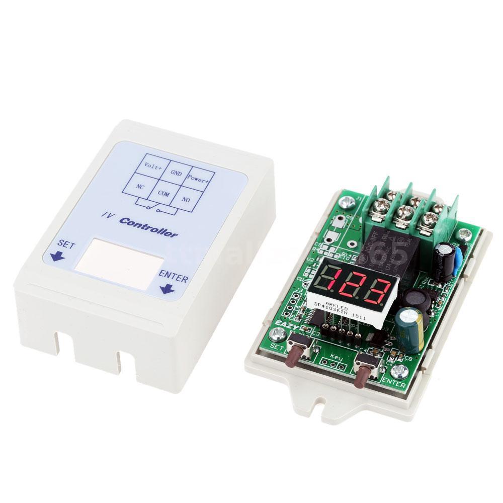 12v 24v Dc Led Digital Voltage Meter Control Relay Timer Delay Display Voltmeter Besides Circuit Does Not Apply