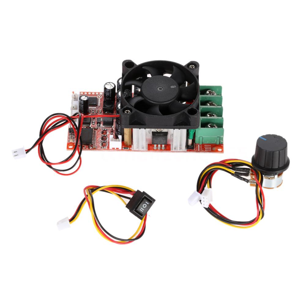 Adjustable H Bridge Dc Motor Speed Pwm Controller 30a With