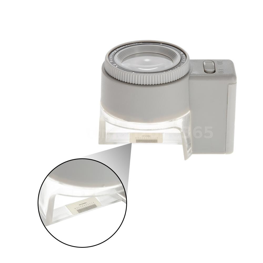 stand magnifier magnifying glass jewelry loupe led light s4c9 ebay. Black Bedroom Furniture Sets. Home Design Ideas