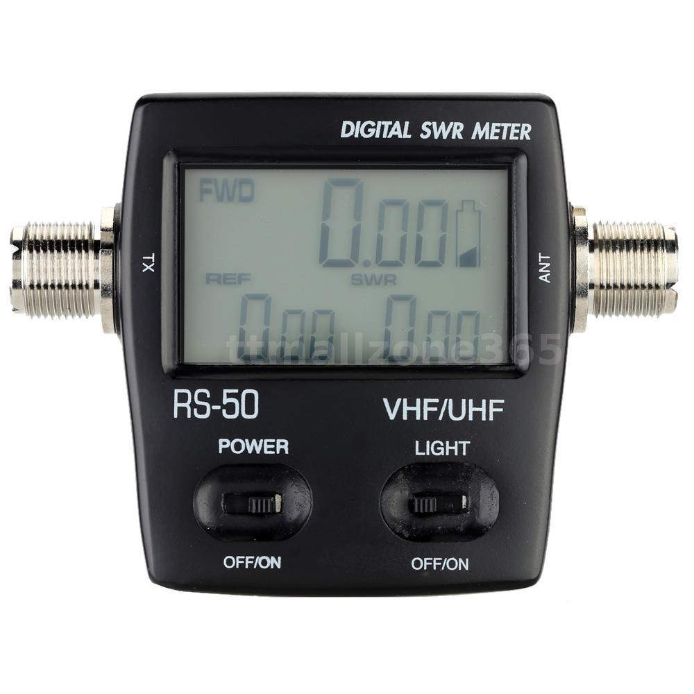 Digital Swr Meter : Digital swr standing wave ratio power meter for ham uhf