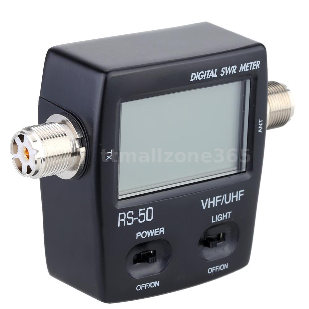 Swr Power Meter : Digital swr standing wave ratio power meter for ham uhf