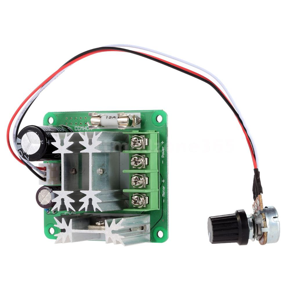 Adjustable dc motor speed pwm controller adjuster plc for Motor with speed control