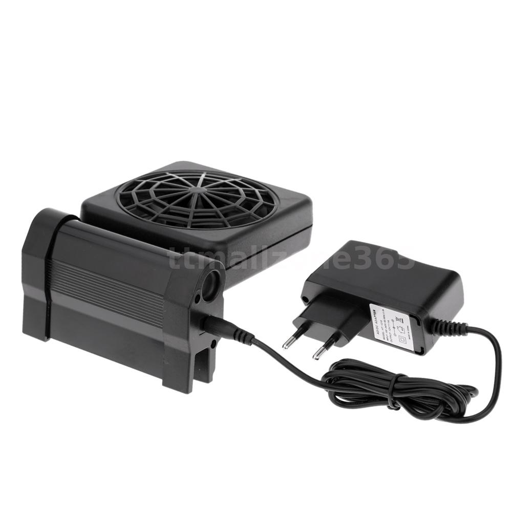 Aquarium fish tank cooling fan - Great Cooling Fans Provide Powerful Ventilation To Reduce Heat Transference From Aquarium Equipment Extremely Quiet Operation With Adjustable Positioning