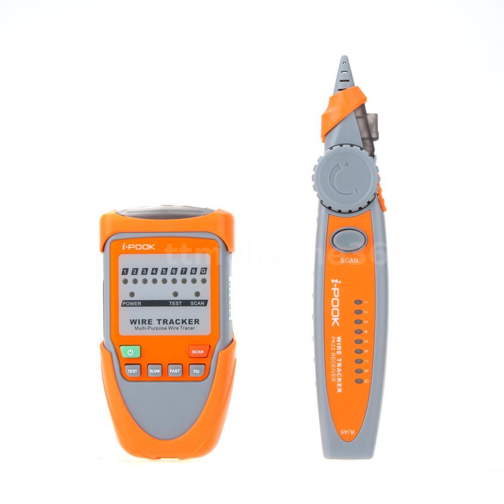 i-pook pk65h kabelsucher kabeltester cabel tracker netzwerktester