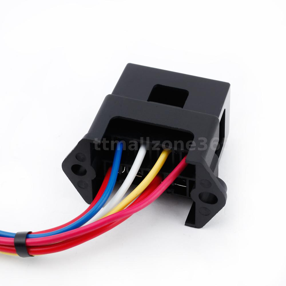 black dc32v 4 way circuit car boat automotive atc ato blade fuse box block d6l3 ebay. Black Bedroom Furniture Sets. Home Design Ideas