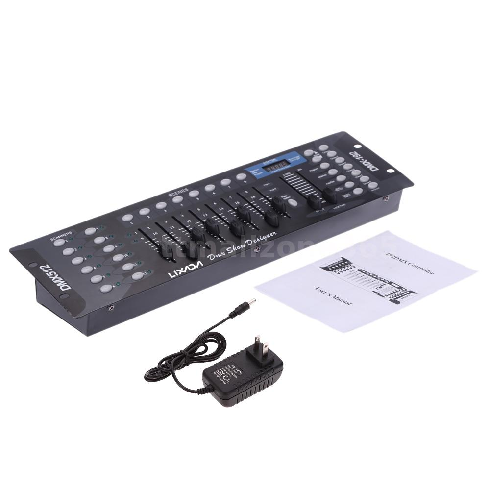 Dmx Operator Light Controller: LIXADA DJ Operator Console 192CH Channels DMX-512 Stage