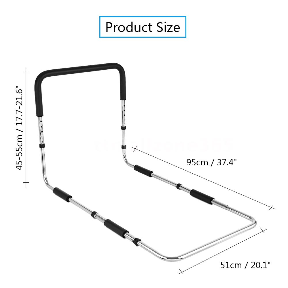 Bed Safety Grip Bar Grab Handle Rail Hand Handicap Assist Bar Bed ...