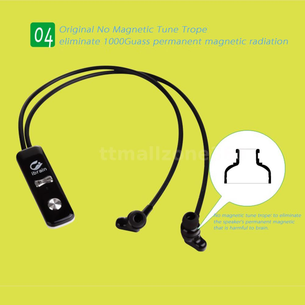 anti radiation air tube bluetooth stereo headset earphone. Black Bedroom Furniture Sets. Home Design Ideas